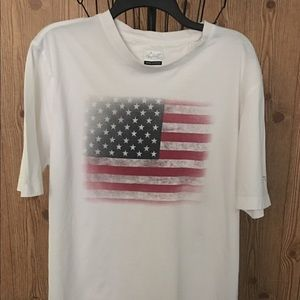 Greg Norman American Flag Tee Men's L
